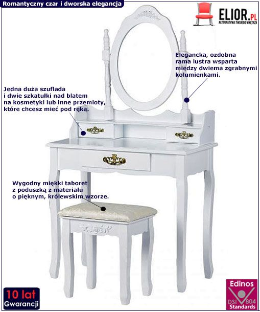 Toaletka Melinda 5X