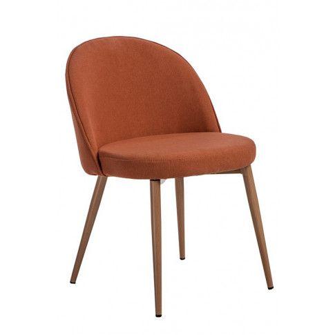Zdjęcie produktu Fotel vintage Divon - pomarańczowy.