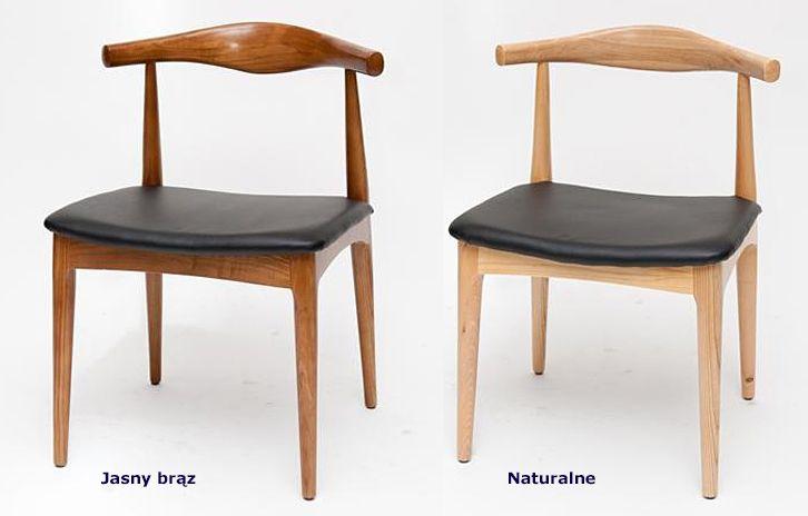 Drewniane krzesła Balton - modne