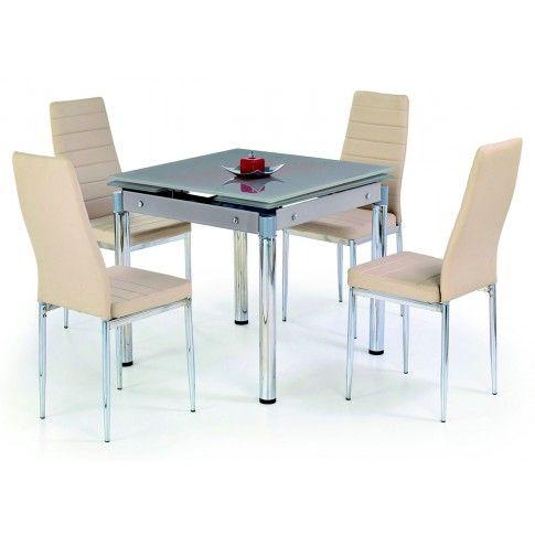 Zdjęcie produktu Stół rozkładany Cuber - beżowy.