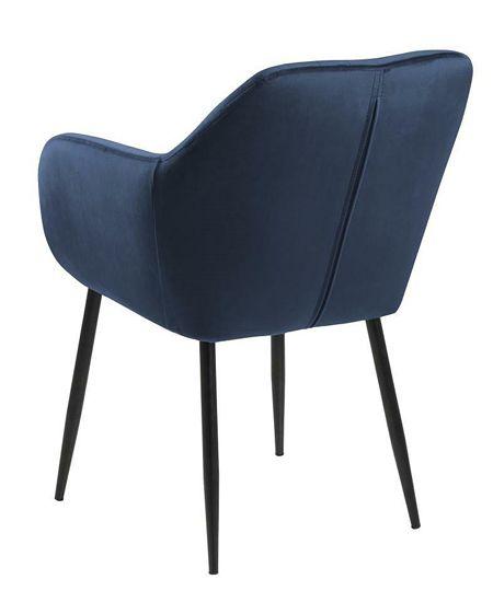 Modny fotel Erino 3X - niebieski
