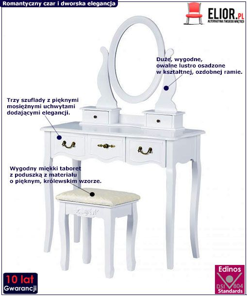 Toaletka Lorena 2X