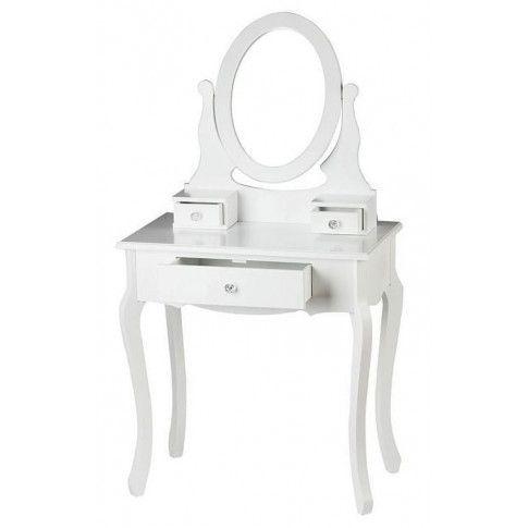 Zdjęcie produktu Romantyczna toaletka Lorena 3X - biała.
