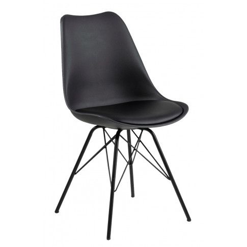 Zdjęcie produktu Krzesło czarne Lindi.
