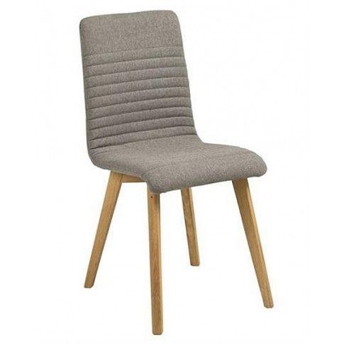 Zdjęcie produktu Krzesło tapicerowane Lammo - szare.
