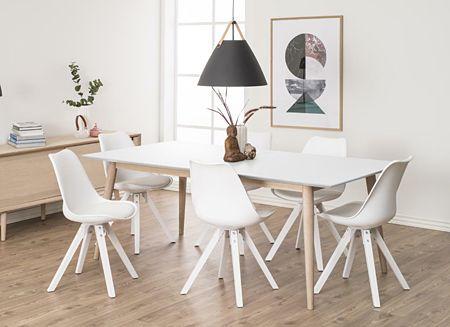 Szykowne krzesło Oscar 3X - białe