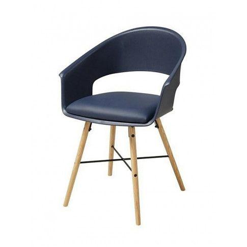Zdjęcie produktu Krzesło muszelka Parmo - niebieskie.