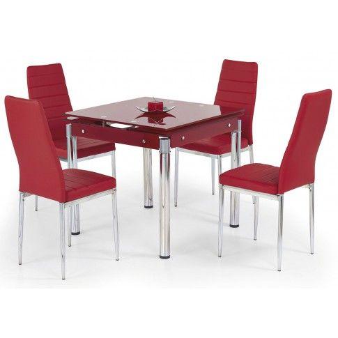 Zdjęcie produktu Rozkładany stół Cuber - czerwony.