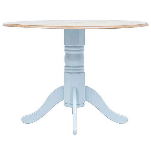Zdjęcie produktu Okrągły stół Galileo 4G - szaro-brązowy.