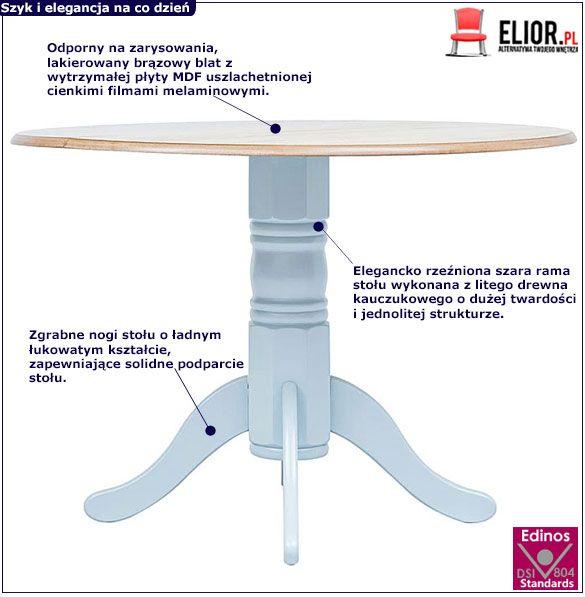 Stół lakierowany Galileo 4G