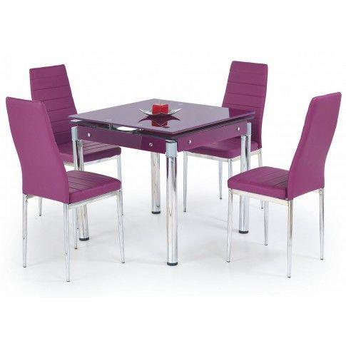 Zdjęcie produktu Rozkładany stół Cuber - fioletowy.
