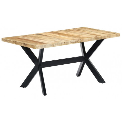 Jasnobrązowy stół z drewna mango Kalis 4X