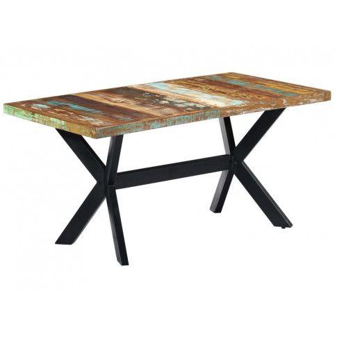 Industrialny stół Kalis 4X z drewna odzyskanego