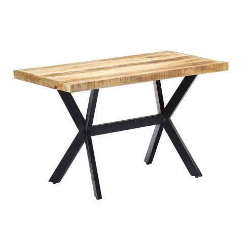 Zdjęcie produktu Stół z drewna mango Kalis 2X – jasnobrązowy .