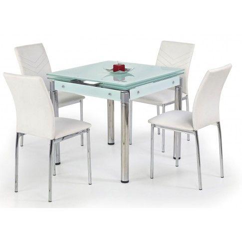 Zdjęcie produktu Rozkładany stół Cuber - biały.