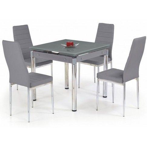 Zdjęcie produktu Rozkładany stół kuchenny Cuber - popielaty.