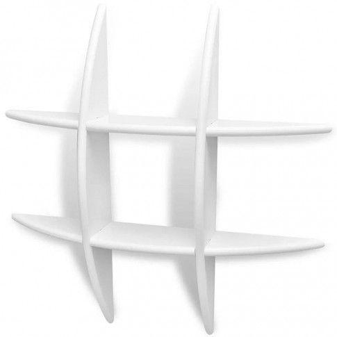 Zdjęcie produktu Praktyczna półka ścienna Sort - biała.