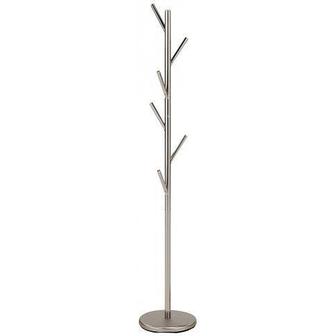 Zdjęcie produktu Wieszak stojący Arlen 16X - srebrny.