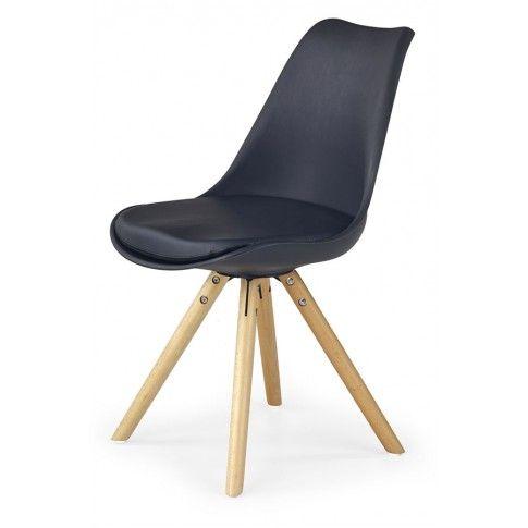 Zdjęcie produktu Krzesło skandynawskie Depare - czarne.
