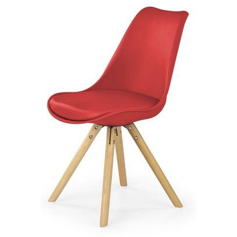 Zdjęcie produktu Krzesło skandynawskie Depare - czerwone.