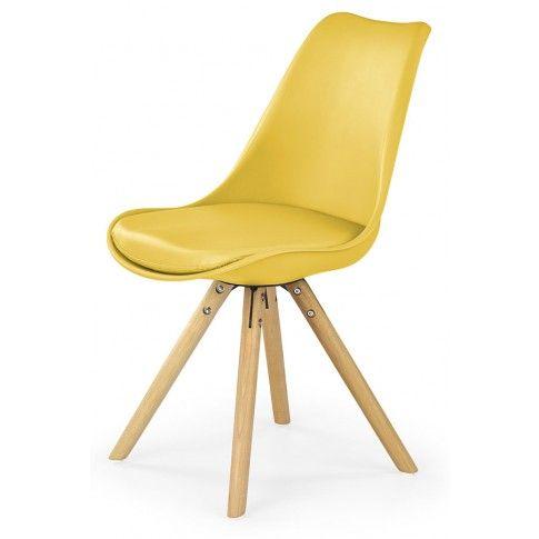 Zdjęcie produktu Krzesło skandynawskie Depare - żółte.