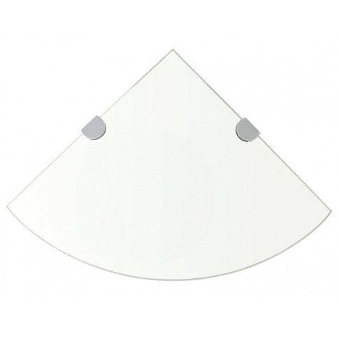 Zdjęcie produktu Półka narożna ze szkła hartowanego Gaja 3X.