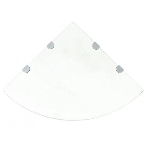 Zdjęcie produktu Szklana półka narożna - Gaja 4X.