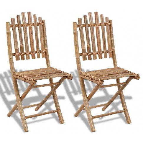 Zdjęcie produktu Składane krzesła tarasowe Javal - 2 szt..