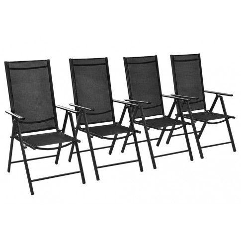 Zdjęcie produktu Komplet krzeseł ogrodowych Safari 4 szt..