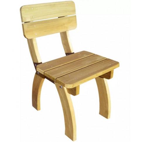 Drewniane krzesło ogrodowe Darco