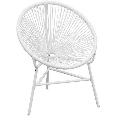 Zdjęcie produktu Krzesło ogrodowe Corrigan - białe.