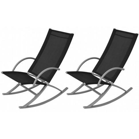 Zestaw bujanych krzeseł ogrodowych Laoma