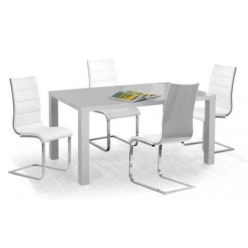 Zdjęcie produktu Lakierowany stół Meltis 4X - 160 cm.