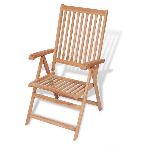 Zdjęcie produktu Drewniane krzesło ogrodowe - Onder.