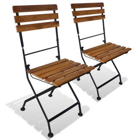 Zdjęcie produktu Ogrodowe krzesła akacjowe Dixter - 2 szt.