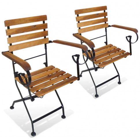 Zdjęcie produktu Składane krzesła tarasowe Dixter 2X - 2 szt..