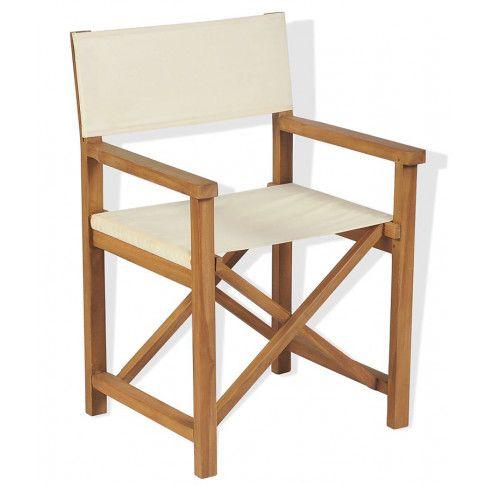 Zdjęcie produktu Składane tekowe krzesło reżyserskie Bonet.