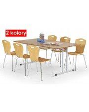 Konferencyjny stół Lerix 100 cm - 2 kolory w sklepie Edinos.pl