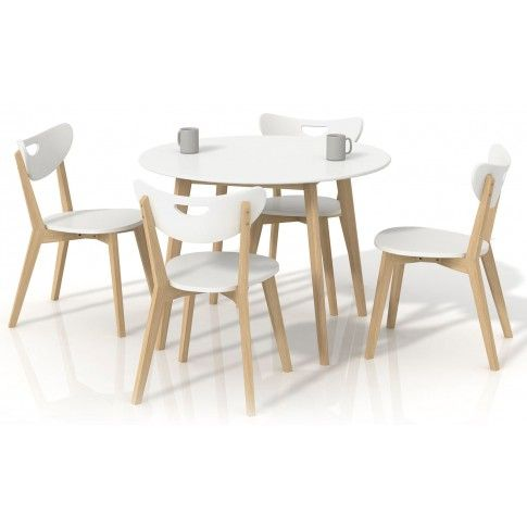 Zdjęcie produktu Okrągły stół Inelo S6 - biały.