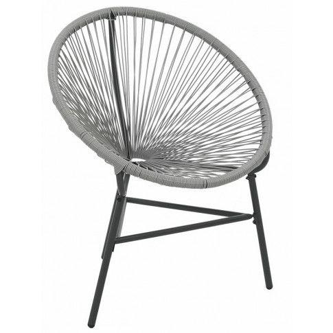 Zdjęcie produktu Krzesło ogrodowe Corrigan - szare.