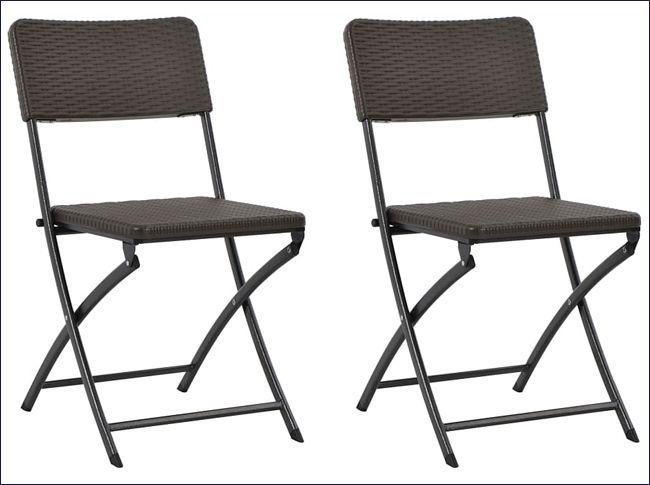 2 krzesła wodoodporne na taras i balkon Otavio