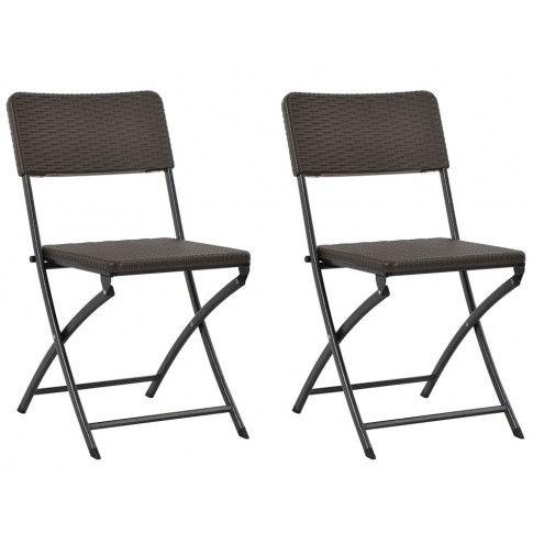 Zdjęcie produktu Składane krzesła ogrodowe Otavio - 2 szt.