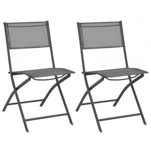 Zdjęcie produktu Składane krzesła ogrodowe Nilla - 2 szt..