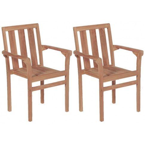 zestaw drewnianych krzeseł ogrodowych kayla