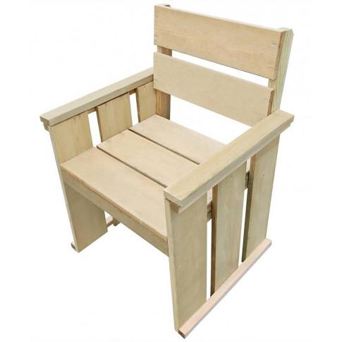 Drewniane krzesło ogrodowe Maggie