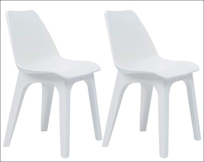 Krzesła wodoodporne na taras i balkon Abila