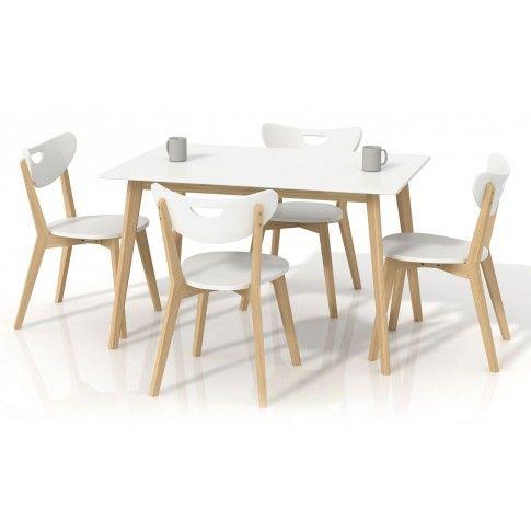 Zdjęcie produktu Prostokątny stół Inelo S7 - biały.