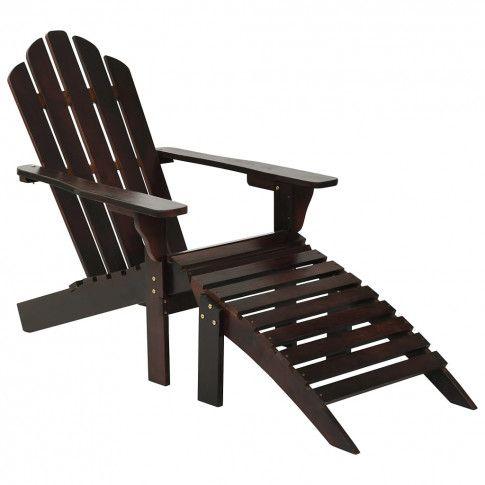 Zdjęcie produktu Drewniane krzesło ogrodowe Falcon - brązowe.