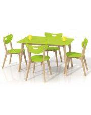 Prostokątny stół Inelo S7 - limonkowy