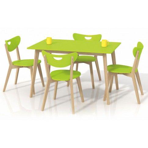 Zdjęcie produktu Prostokątny stół Inelo S7 - limonkowy.